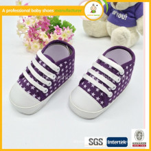 Hottest fashionable shoes infants and soft canves baby shoes