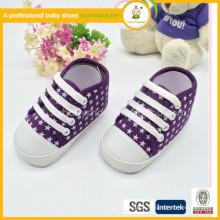 Sapatos de moda mais elegantes para bebês e sapatos de bebê com canas macias