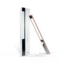 IPUDA Ajustável USB escritório led iluminação Sensor de Toque LED Único design moderno fácil armazenado levou mesa de luz recarregável 6 W de metal