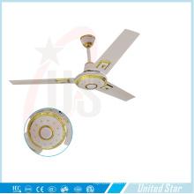 56''celling Вентилятор Вентилятор охлаждения Вентилятор постоянного тока Солнечный вентилятор
