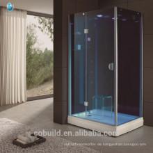 K-712 blau gehärtetem Glas Jet Massage Dampf Dusche Zimmer Guangdong Haushaltsartikel