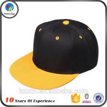 Black Flex Fit Hip Hop Caps