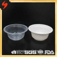 Spezieller 400ml PP mikrowellengeeigneter Einweg-Suppenbehälter aus Kunststoff