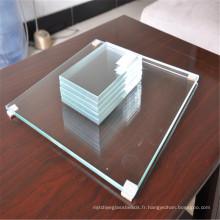 Panneau en verre blanc superbe de sécurité pour le verre de salle de bains,