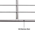 Rede de arame para churrasco para churrasco em aço inoxidável 304