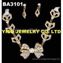 Ensemble de bijoux pour bijoux en fleurs AB