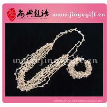 Shangdian Diamant Kristall Leopard Halskette