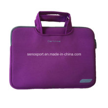 "12 ""Purple Color Neopren Laptop Tasche mit Griffband (SNLS18)"