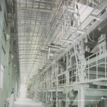 Máquina de fabricação de papel de placa frente e verso de papel Kraft