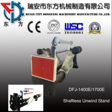 Double Unwind Paper Clamping Mill for Paper Roll Cutter