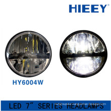 IP67 led headlight for big truck DOT Approval led headlight 12/24V led round 7 inch headlamp for jeep wrangler