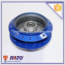 Buena calificación rueda trasera de la rueda de la motocicleta de la aleación de aluminio