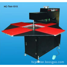 Automatic 4 stations heat press
