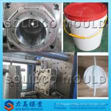 paint bucket mould,bucket mould,plastic injection mould.