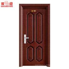 Горячие продаж ShuangYing дверей межкомнатные стальные двери-весенние цветы Бирманского Красного грейпфрута-нержавеющая сталь двери для дома