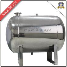 Tanque de agua de acero inoxidable para sistema de tratamiento de agua
