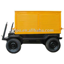 4 cyclinder yangdong engine movable trailer generator