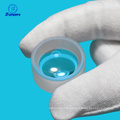 Small plano convex lens with coating