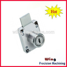 customized aluminium alloy awning window motorcycle lock