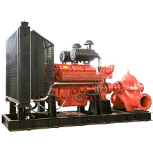 Bomba de agua de las aguas residuales de la succión del motor diesel Bomba de las aguas residuales sumergible de la lucha contra el fuego
