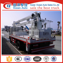 Dongfeng 4 * 2 camión de la operación de la alza para la venta (altura de trabajo máxima 18 m)