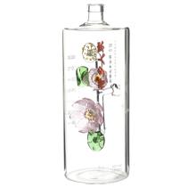 Bouteille de liqueur unique verre de vin en forme de bouteille 1 litre