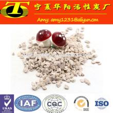 Granulés naturels de zéolite granulaire à vendre