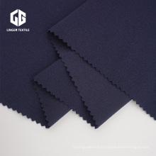 Tissu crêpe de polyester 100D avec élasthanne