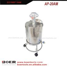 Tanque de aço inoxidável 20L do agitador do ar do tanque da pintura de ar