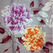 High Quality Pigment Printing Floral Design Fabric for Mattress