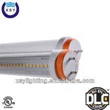 Levou tubo com LM-79 relatório de ensaio LM-80 cUL DLC listada t8 luz tubo conduzido