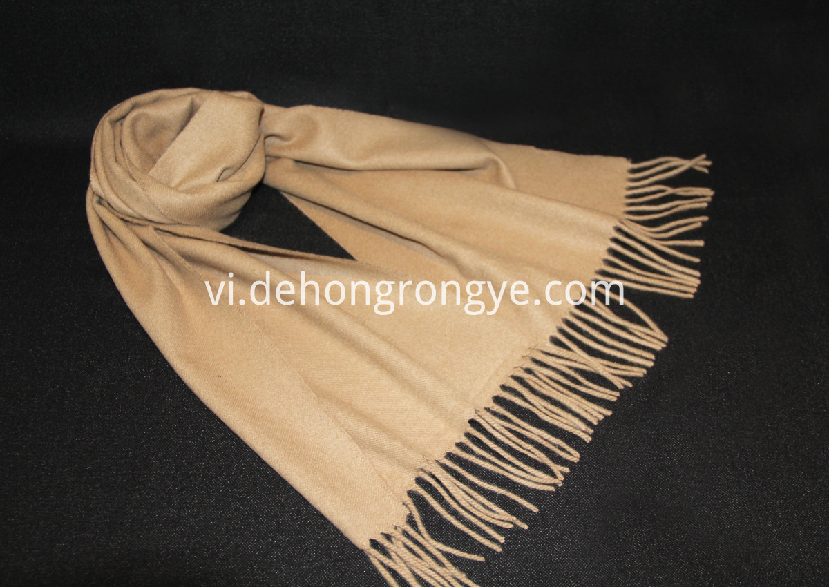 Camel's Cashmere Scarf
