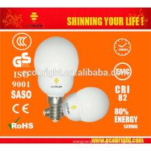 Novo! Mini Super Global CFL lâmpada 9W 8000H CE qualidade