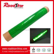 Rollos de hoja de PVC reflectante para la manga de cono