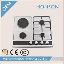 Two Hotplate and Two Burners Gas Hob Gas Cooker