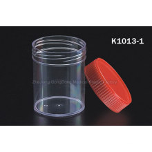 CE Certificated 60ml Stool Container Red Cap Without Stick
