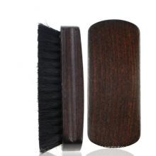 FQ novo design javali cerda homens de madeira barba escova de madeira