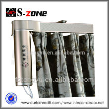 Remote Dry Contact Interphase Control Curtain Rail Motorized Bendable Curtain Track