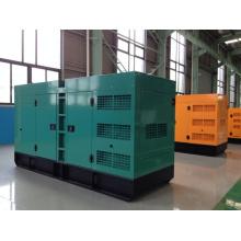 Groupe électrogène diesel de 64kw / 80kVA Doosan avec la clôture insonorisée d'auvent
