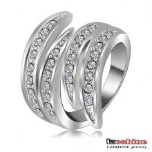 La última moda del anillo del regalo del ala de ángel (Ri-HQ0063-b)