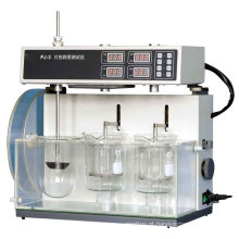 Testador de Quatro Comprimidos com 3 Estações de Dissolução Pj-3