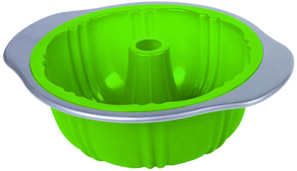 carbon steel frame silicone bundt pan