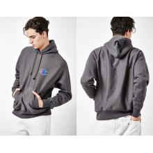 Gray Men′s Sport Fashion Hoody