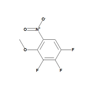 1, 2, 3-Trifluor-4-methoxy-5-nitrobenzol CAS Nr. 66684-65-9; 66684-60-4