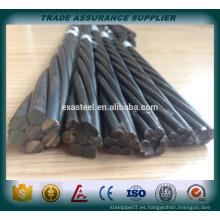 China de alta calidad 12,7 mm pc strand fabricante
