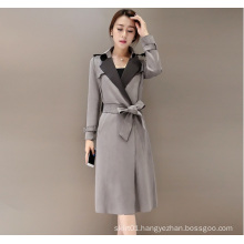 Latest Fashion Plus Size High Quality Suede Winter Women Jacket