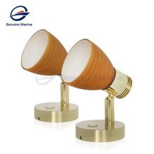 Genuine marine European Quality Boat Marine Wall Surface Mounted Lamp Touch Dimming Spot LED Reading Light