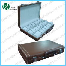 PU Leather Wrist Watch Display Case Box