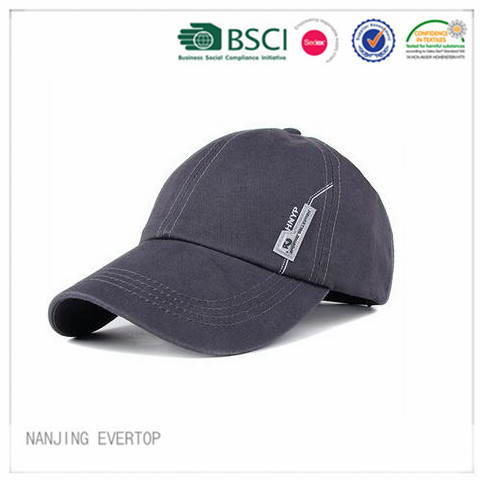 Sports Cap with Badge
