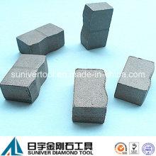 Cobalto Bond segmento de alta qualidade em mármore para lâmina de 1600mm